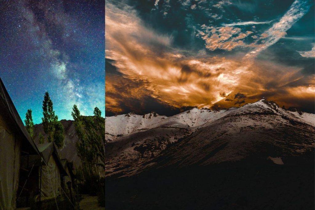 Ladakh night