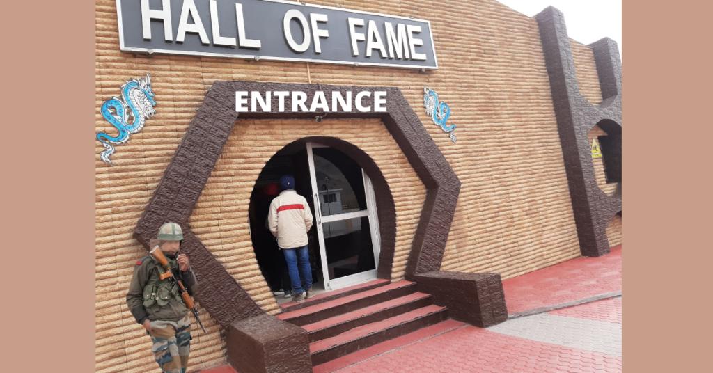 Hall of fame leh entrance