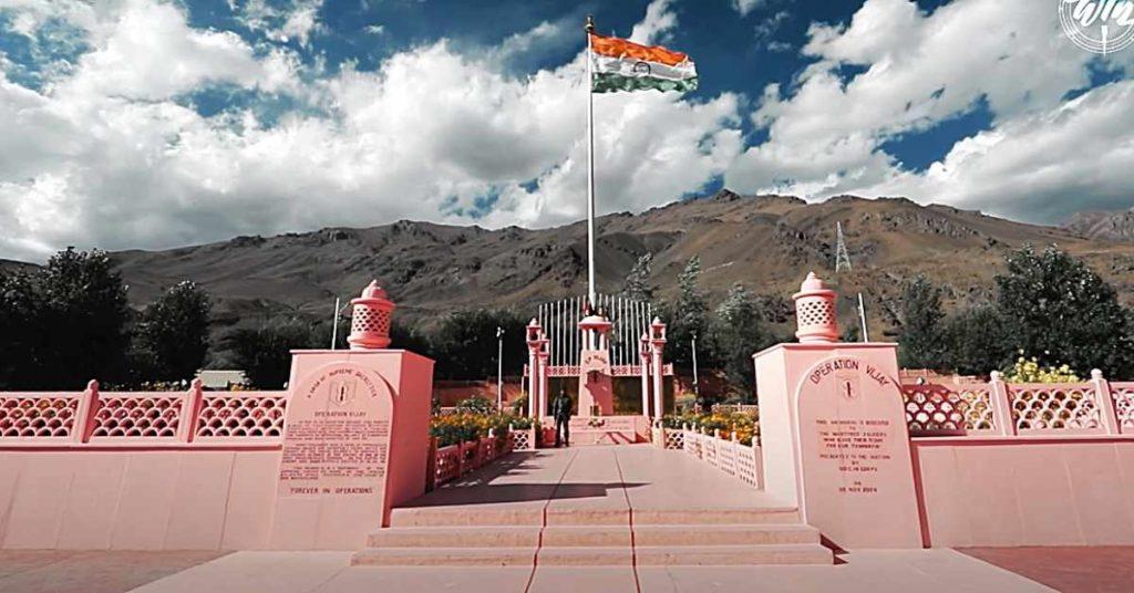 Kargil war memorial amar jawaan