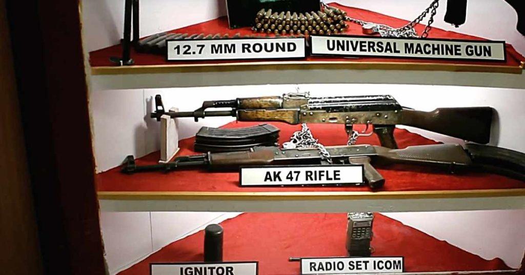 Kargil war memorial guns