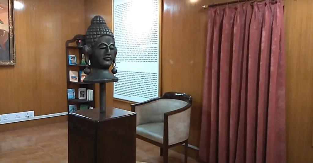 Zorawar fort Buddha