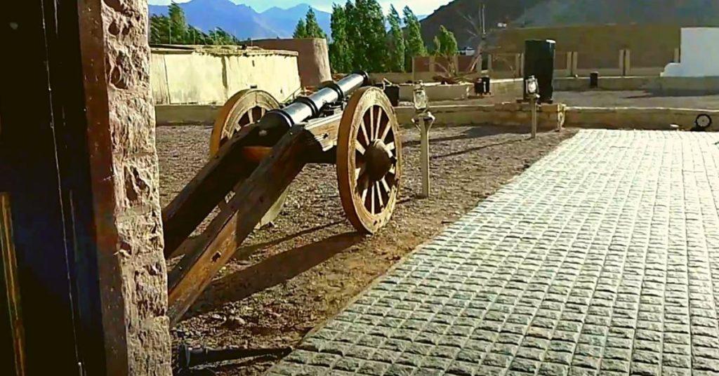 Zorawar fort Canon
