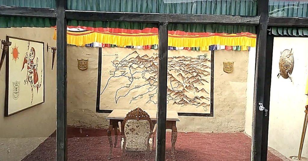 Zorawar fort war room