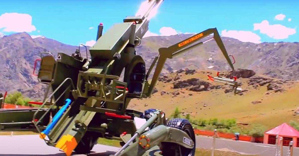 Dras war memorial Bofors