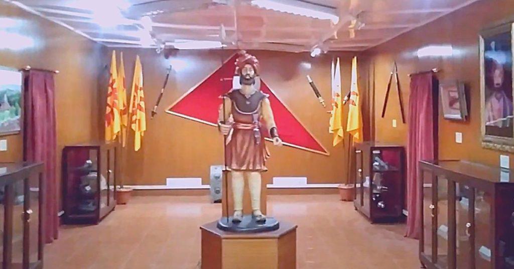 General zorawar fort artefact room