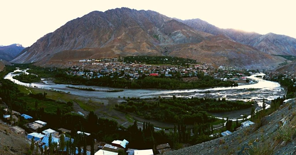 Kargil the joint capital of Ladakh
