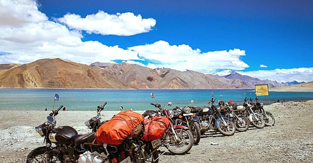 Bike tour Leh to Pangong