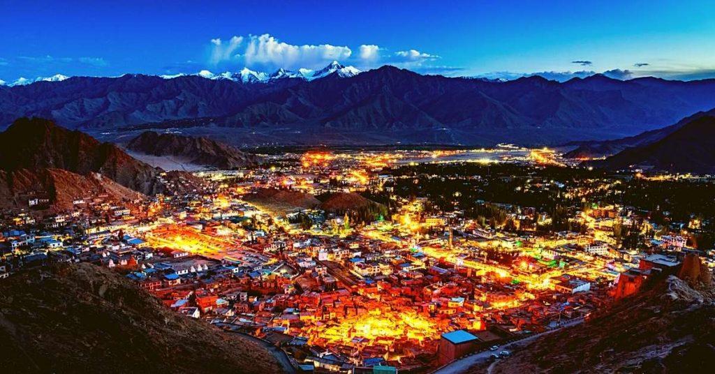 Leh the capital of Ladakh