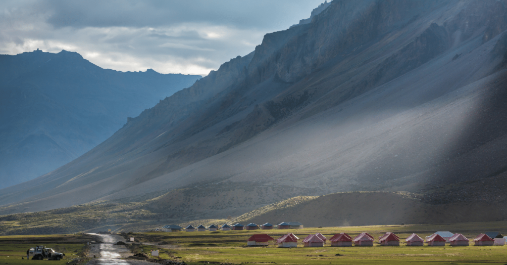 camping ladakh nubra