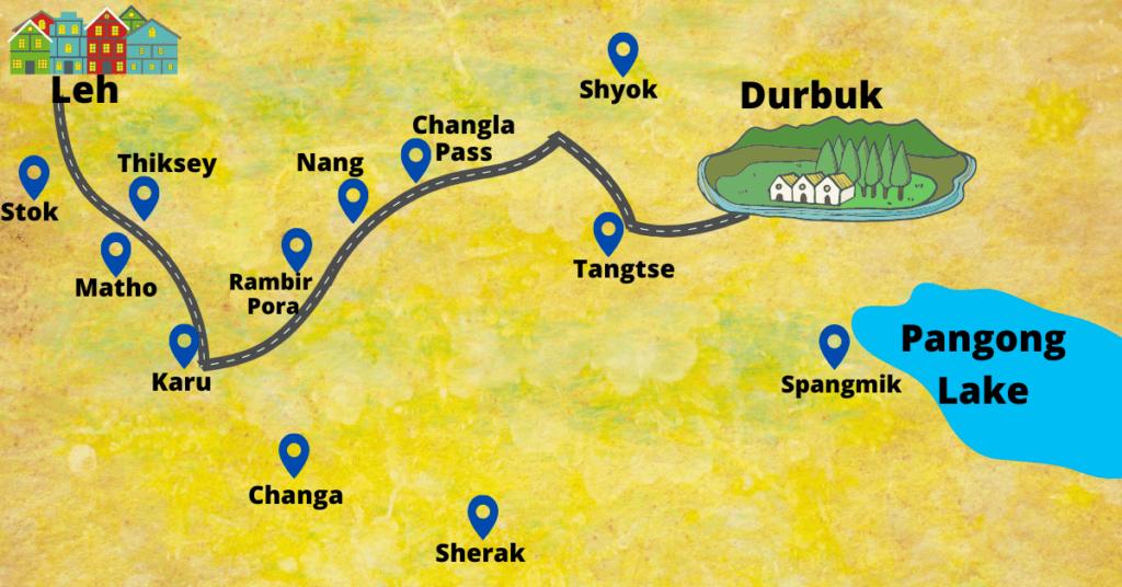 Durbuk Map