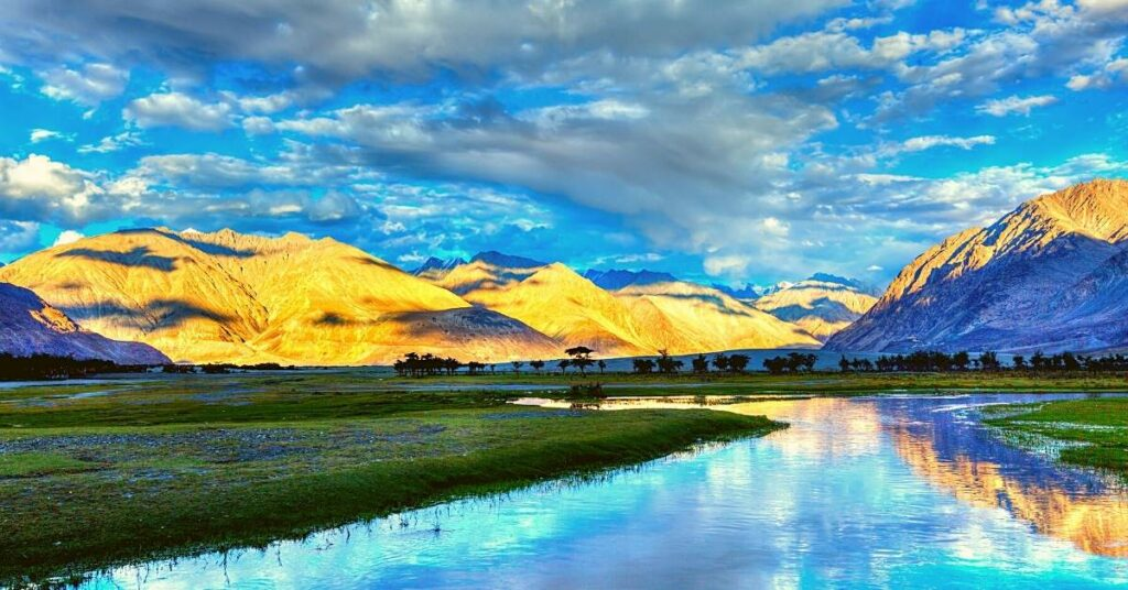 Nubra river