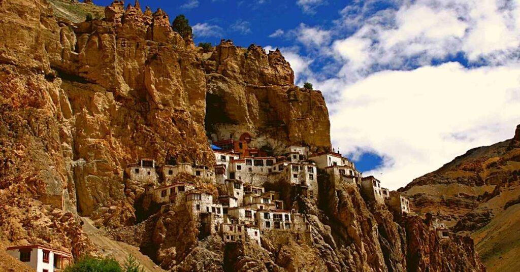 Phuktal monastery in Zanskar valley